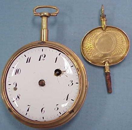3: G.JOLLY PARIS GOLD POCKETWATCH