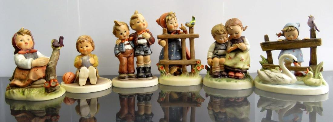 """LOT (6) HUMMELS INCLUDING AT PLAY, #632, HEIGHT 3 1/2"""";"""