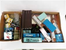 (3) BOX LOTS INCLUDING MARKLIN, MANTUA, TYCO HA GA