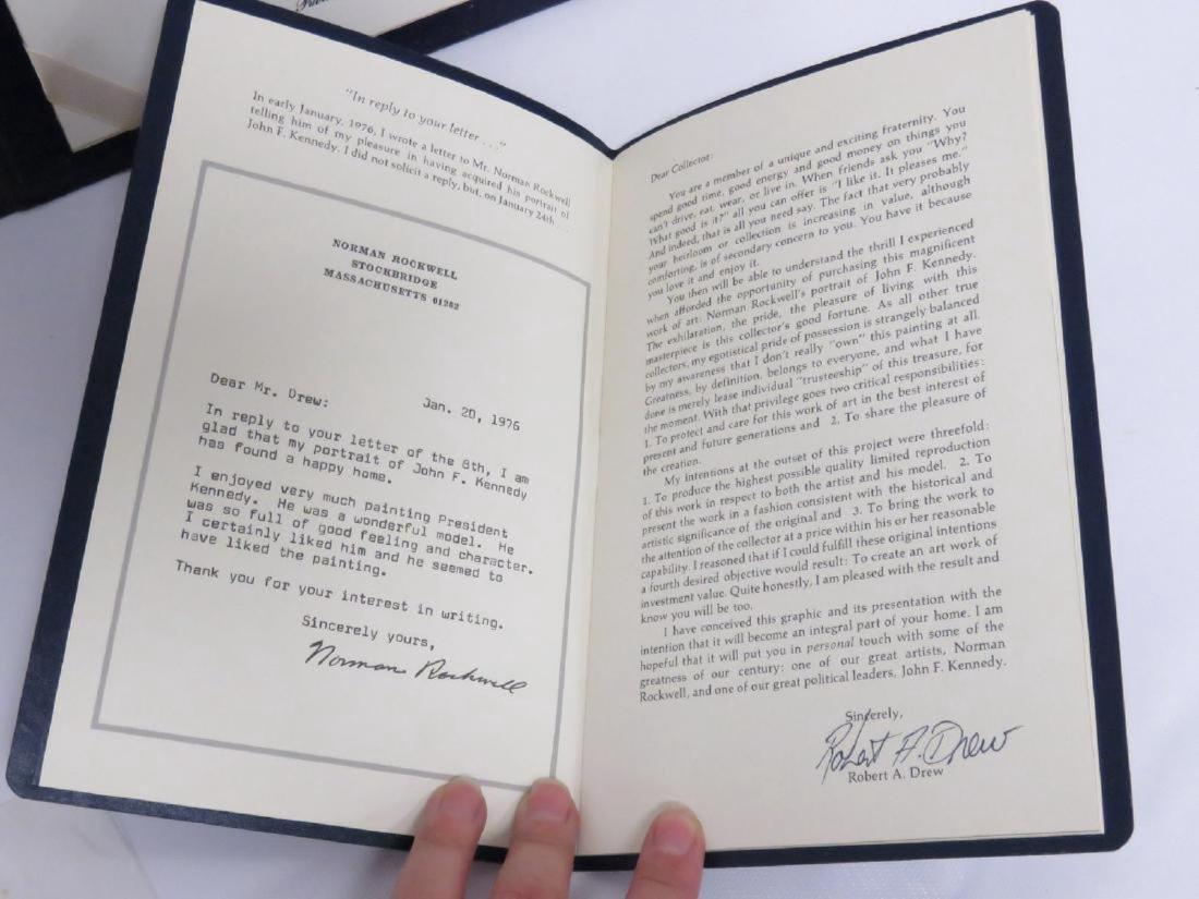 JOHN F. KENNEDY: PRESIDENTIAL PORTRAIT PRINT, BY NORMAN - 4