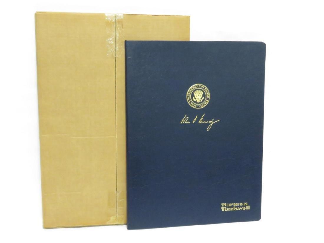 JOHN F. KENNEDY: PRESIDENTIAL PORTRAIT PRINT, BY NORMAN - 5