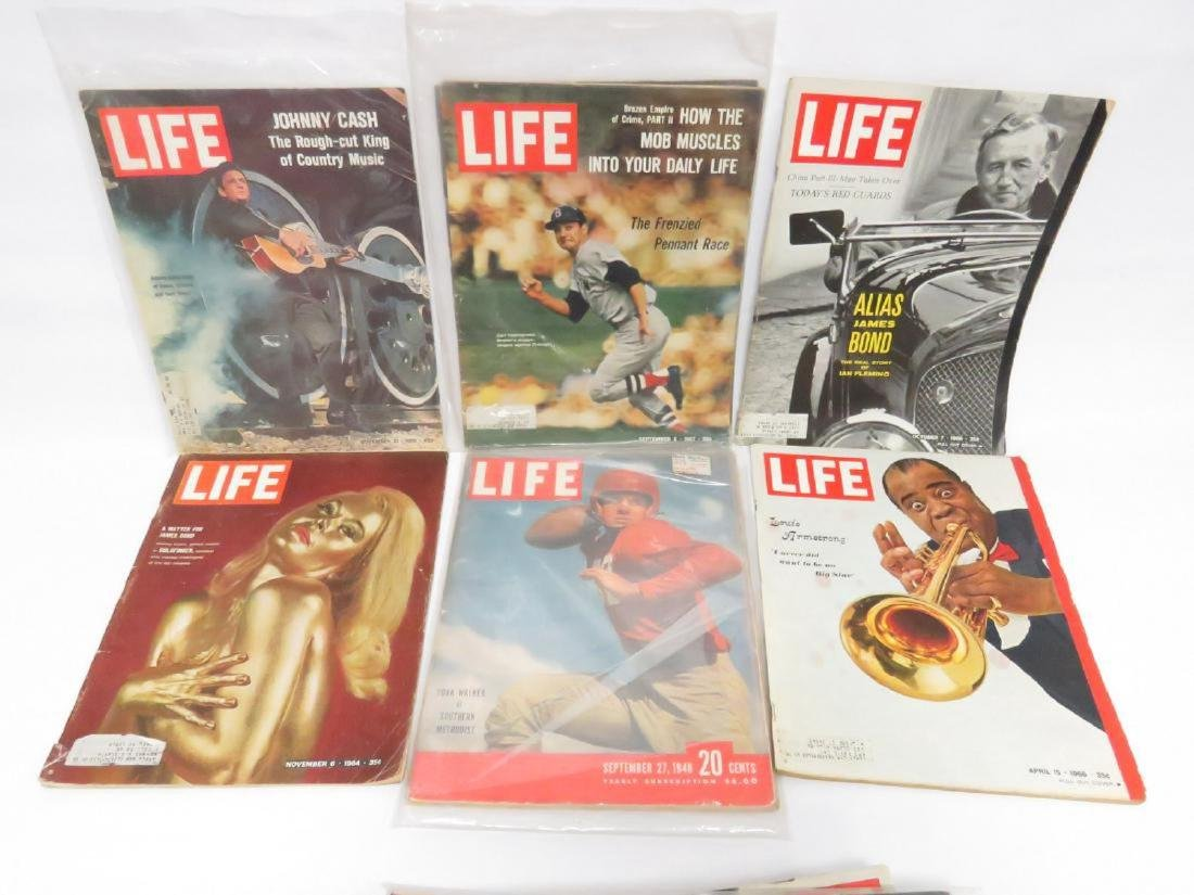 LOT LIFE MAGAZINES INCLUDING (18) 1937, 1938, 1941-42, - 4