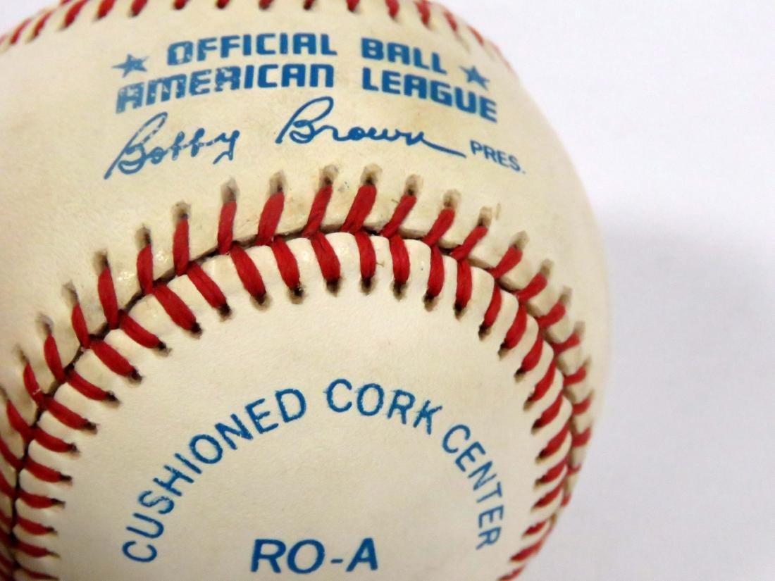 LOT (2) MLB SIGNED BASEBALLS INCLUDING TOMMY JOHN & - 5