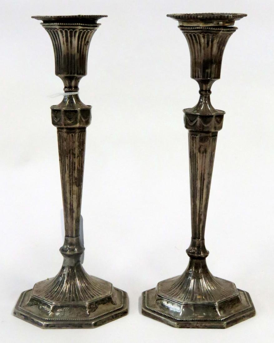 PAIR J.E. CALDWELL & SON/PHILADELPHIA STERLING WEIGHTED