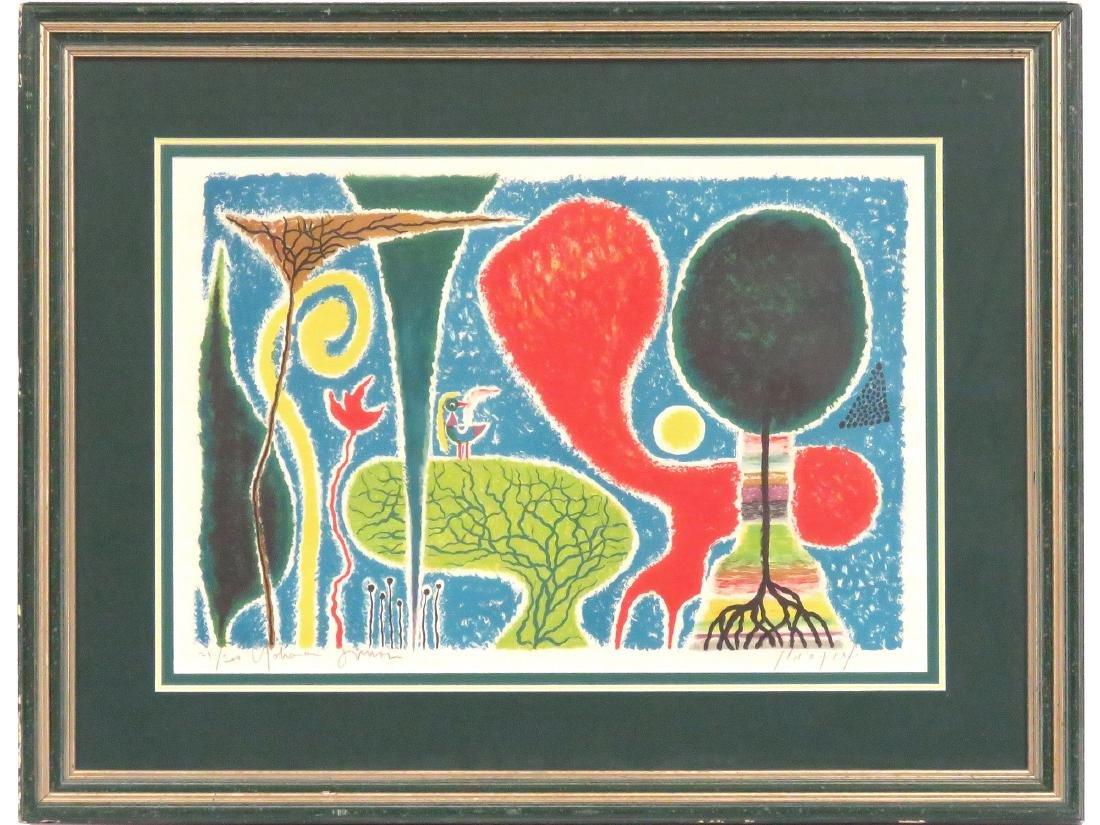 YOHANAN SIMON (ISRAELI 1905-1976), LITHOGRAPH, UNTITLED