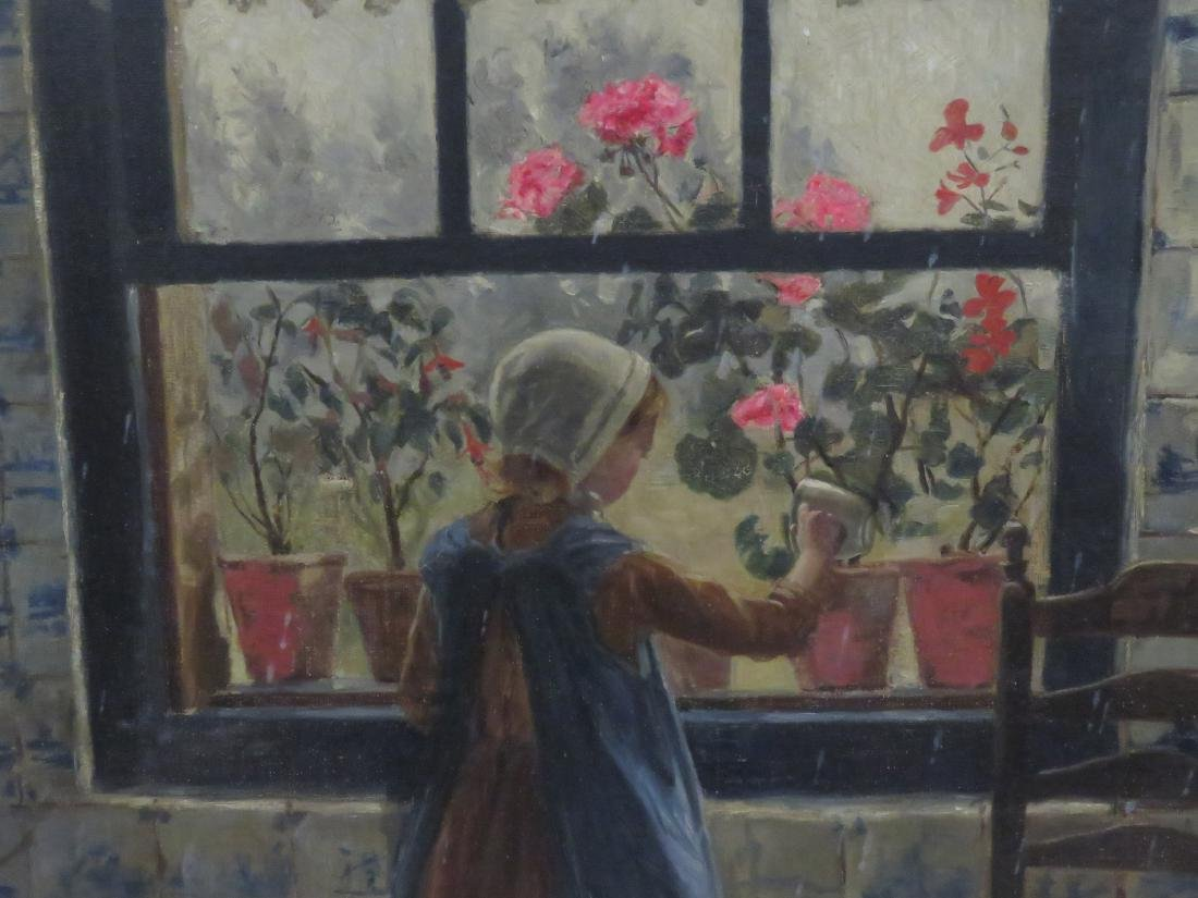 IRENE E. PARMELEE (AMERICAN 1847-1934), OIL ON CANVAS, - 3