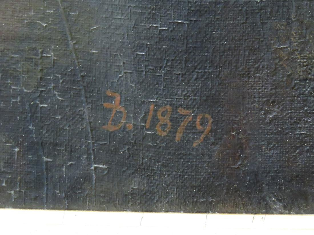 AMERICAN SCHOOL (19/20TH CENTURY), OIL ON ARTIST BOARD, - 3