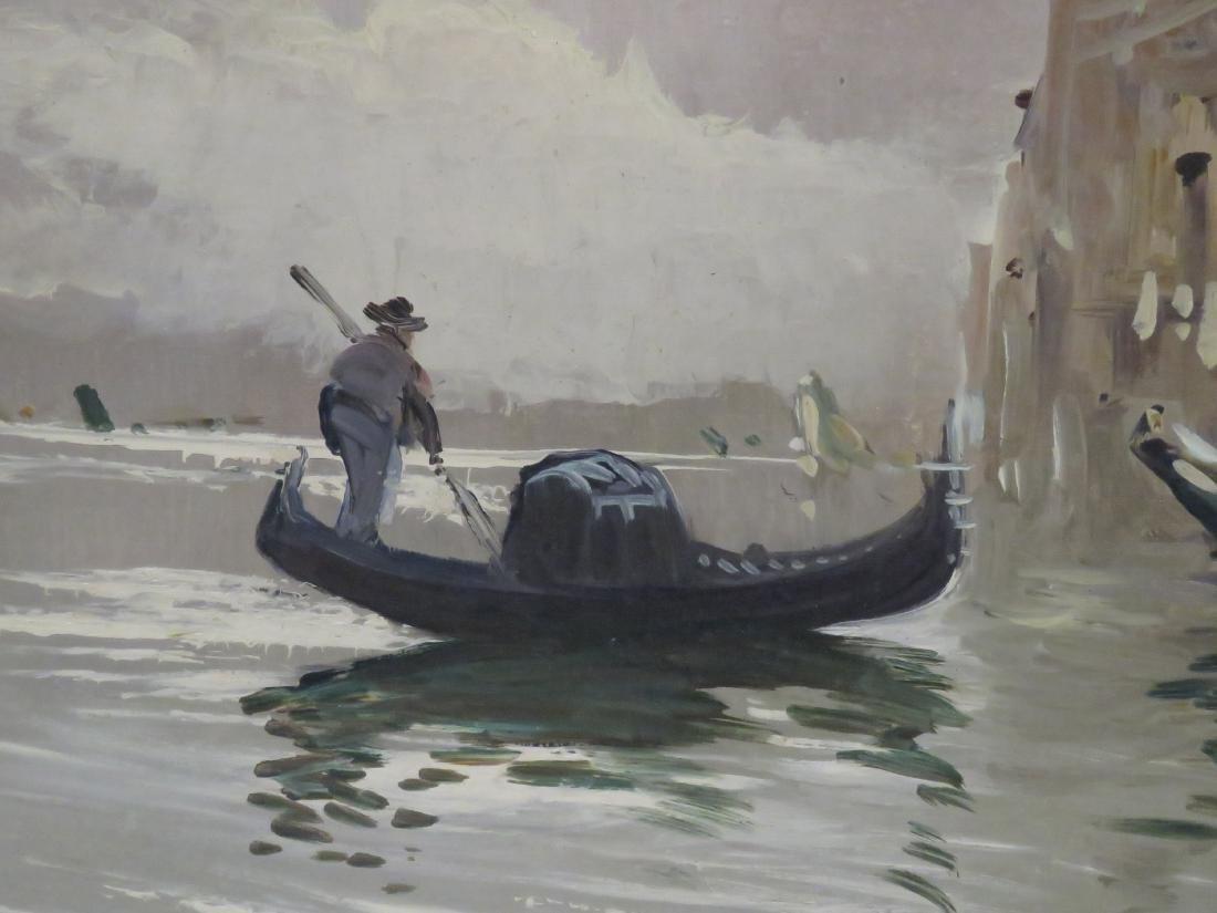 ANTONIO DE VITY (ITALIAN 1901-1993) OIL ON CANVAS, - 3