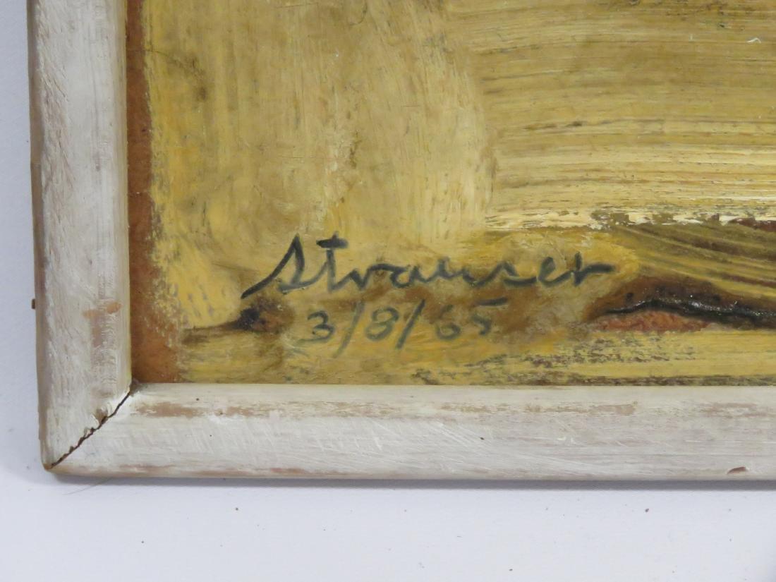 STERLING BOYD STRAUSER (AMERICAN/PA 1907-1995), OIL ON - 2