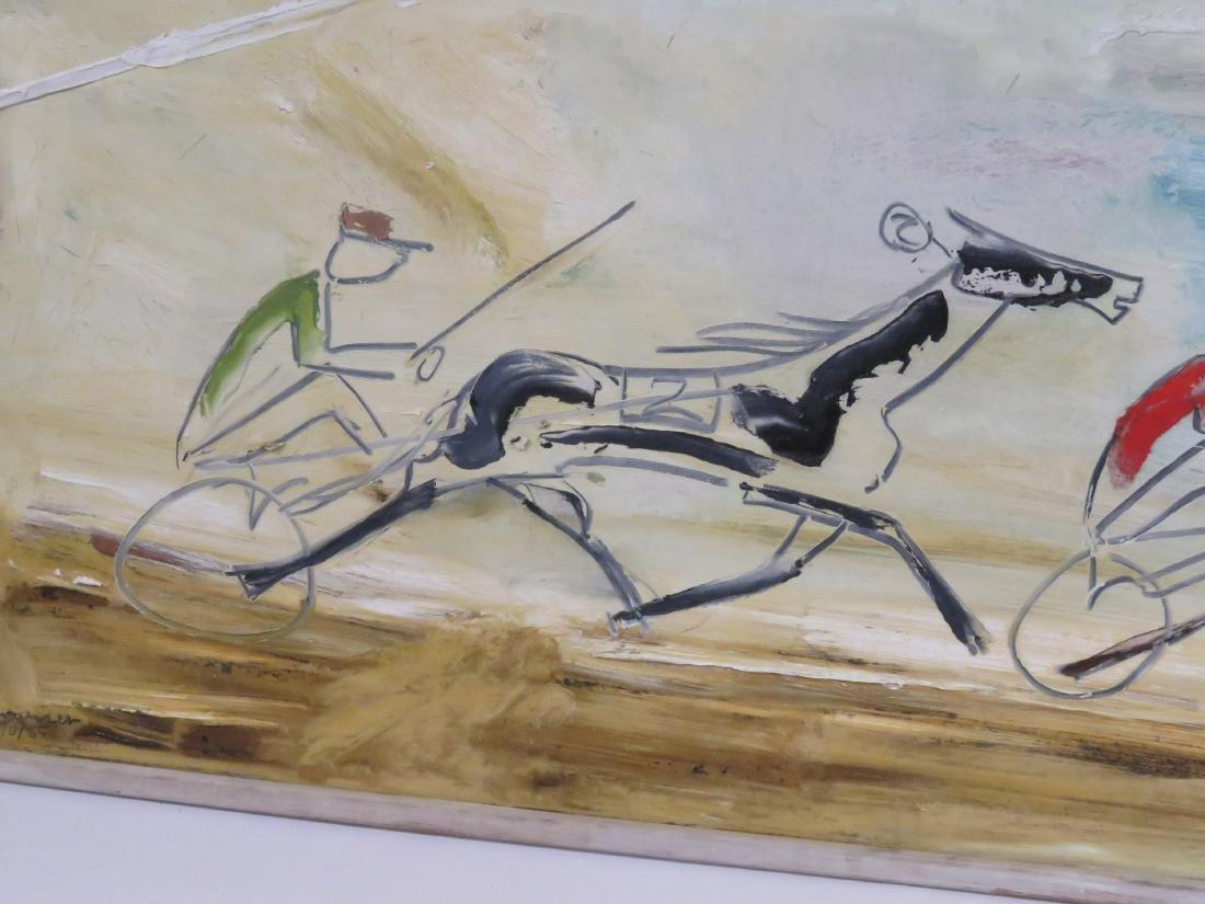 STERLING BOYD STRAUSER (AMERICAN/PA 1907-1995), OIL ON - 3