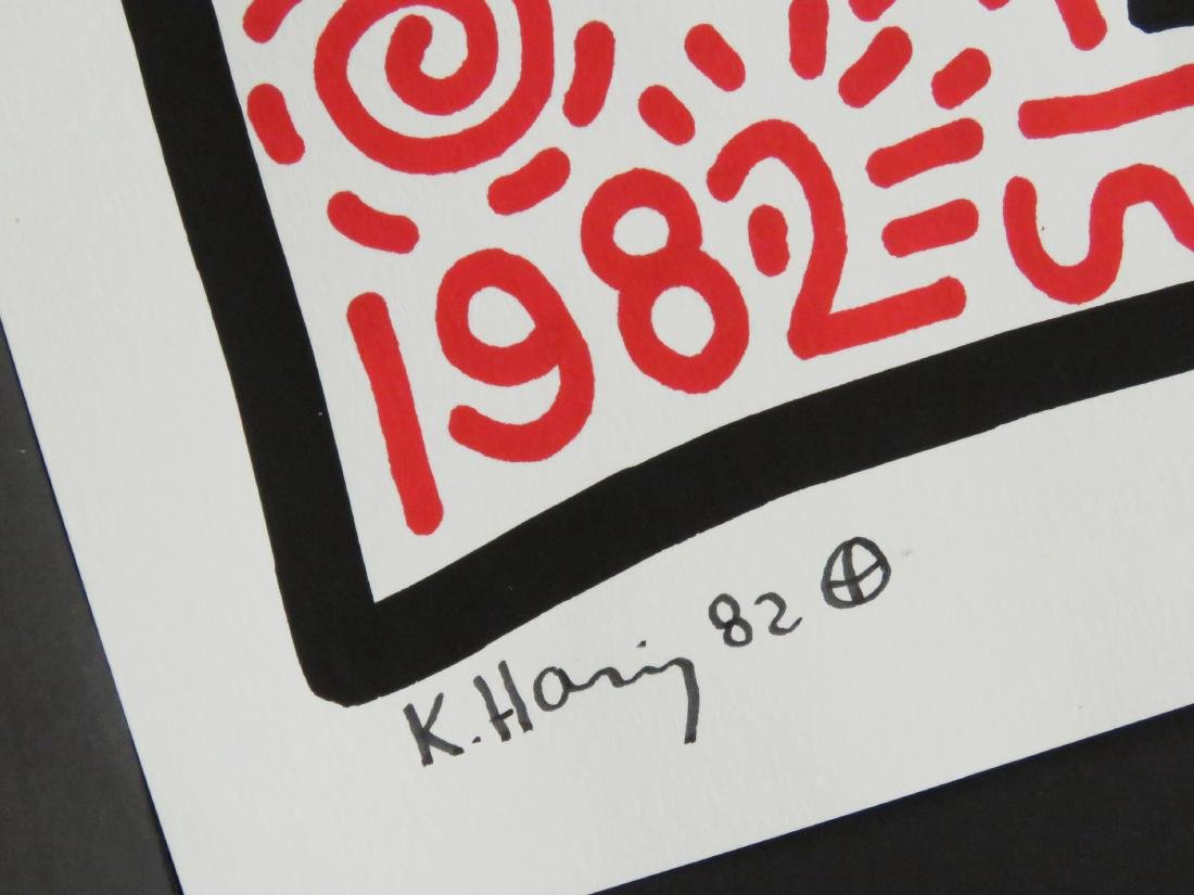 ATTRIBUTED TO KEITH HARING (AMERICAN 1958-1990), MARKER - 2