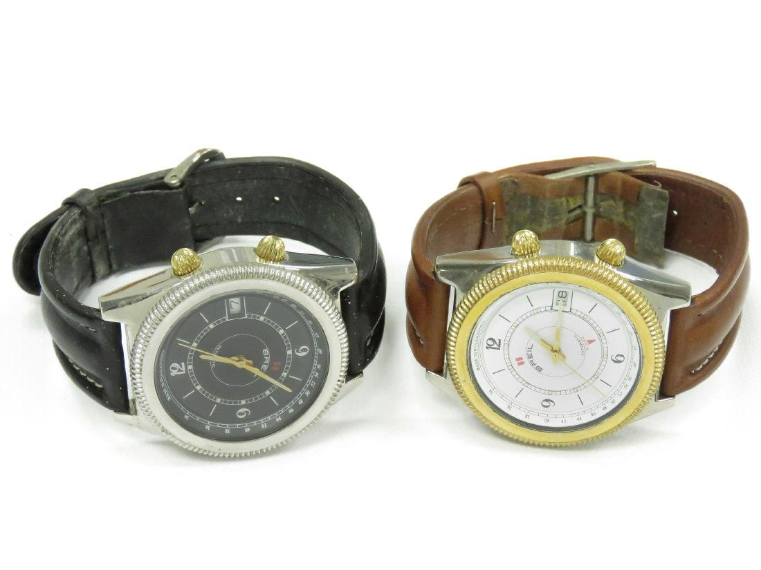 LOT (2) BREIL MODEL 145 STAINLESS AUTOMATIC