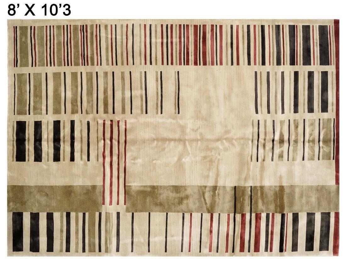 "MODERN DESIGN CARPET. 8' X 10'3"""