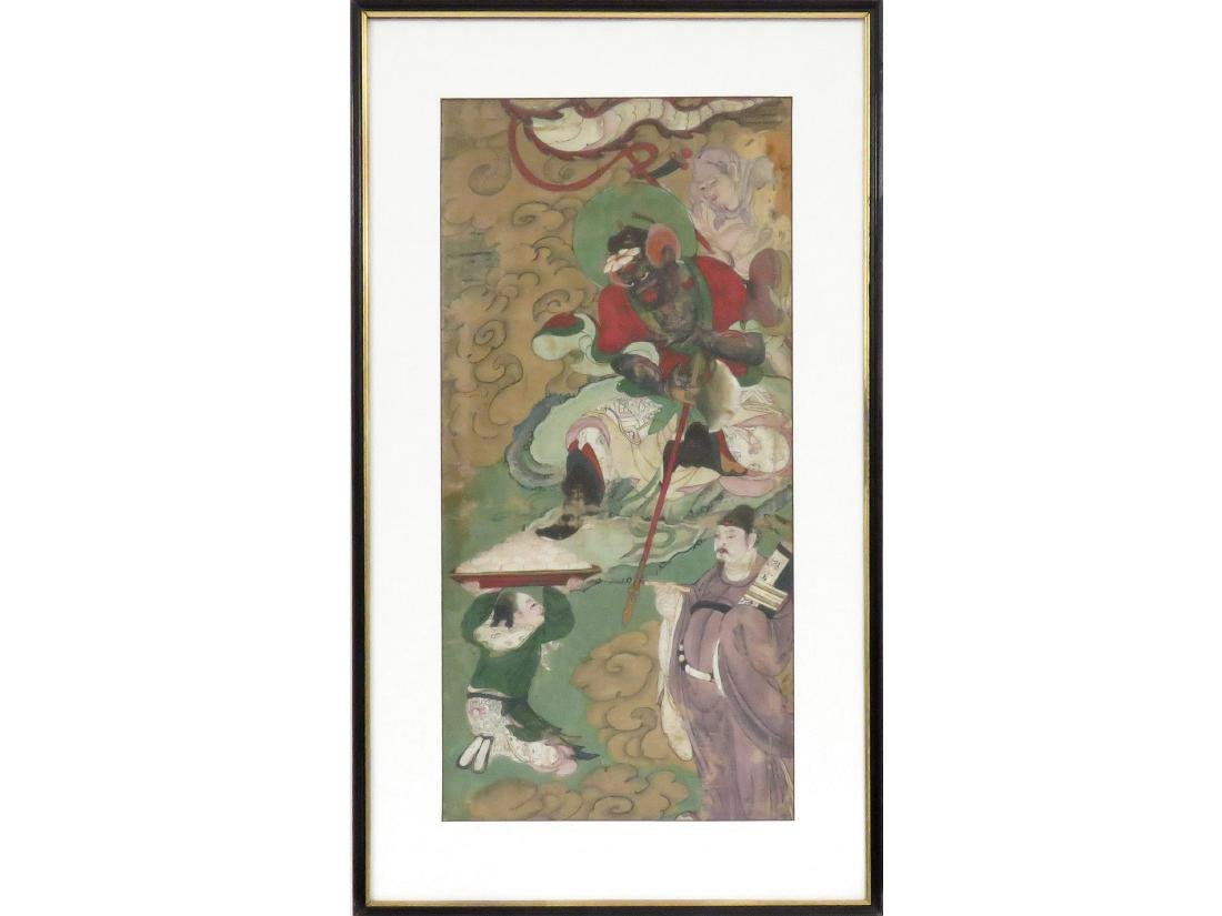 CHINESE SCHOOL (18/19TH CENTURY), WATERCOLOR ON SILK