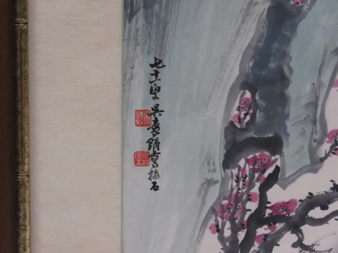 CHINESE SCHOOL (20TH CENTURY), INK AND WATERCOLOR ON - 4