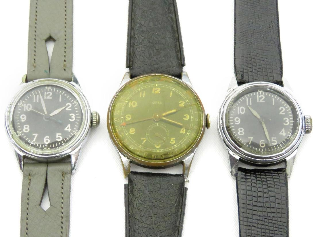 LOT (3) INCLUDING (2) VINTAGE ELGIN US ARMY AIR FORCE