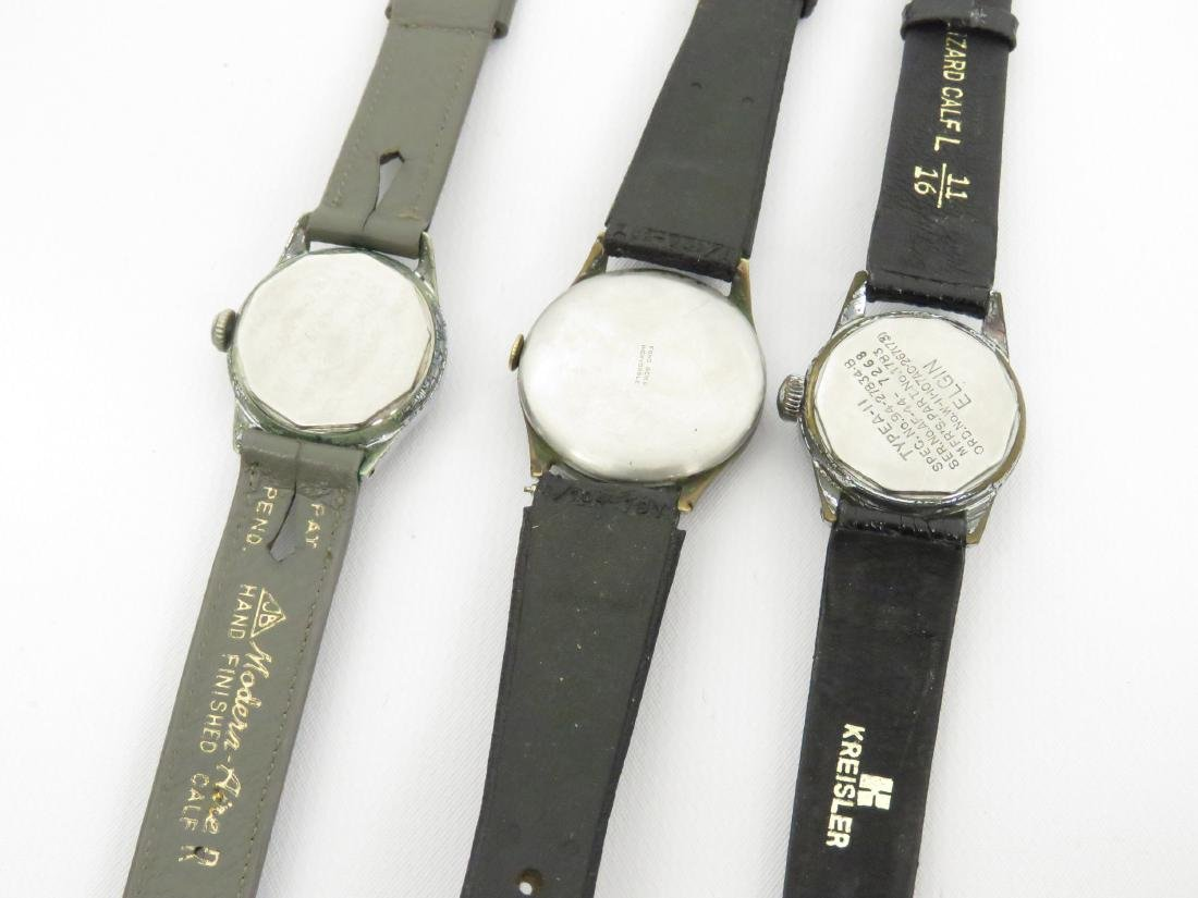 LOT (3) INCLUDING (2) VINTAGE ELGIN US ARMY AIR FORCE - 3