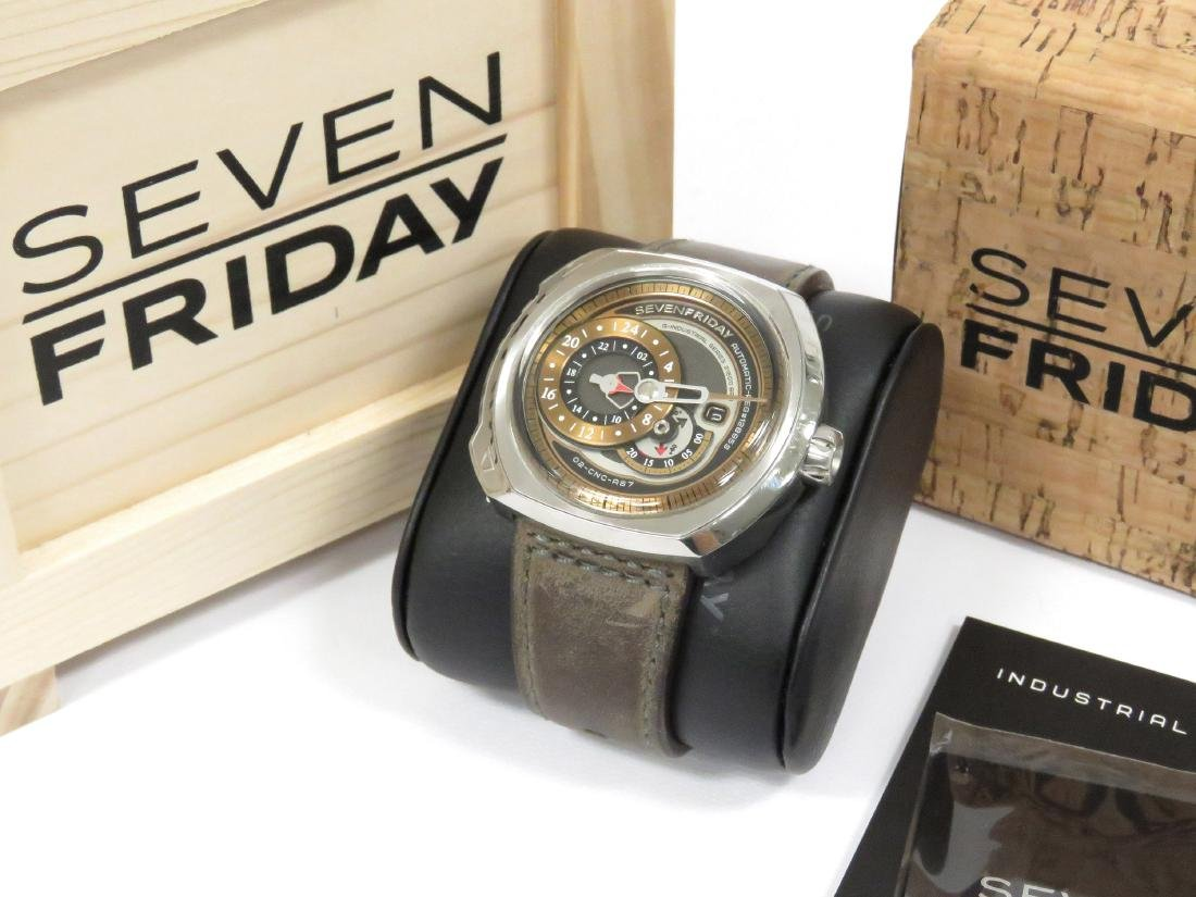 SEVENFRIDAY, Q2/01, INDUSTRIAL SERIES STAINLESS