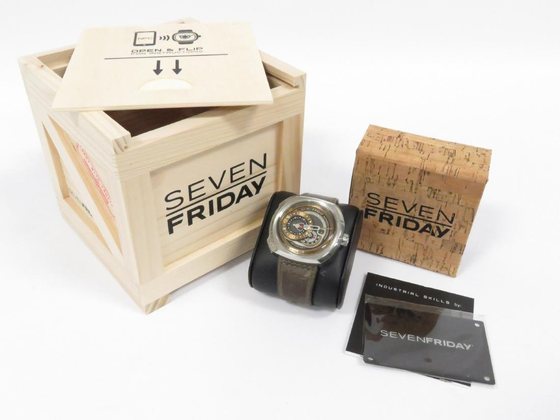 SEVENFRIDAY, Q2/01, INDUSTRIAL SERIES STAINLESS - 3