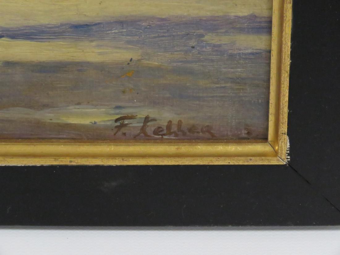 FERDINAND KELLER (GERMAN 1842-1922), OIL ON ARTIST - 2