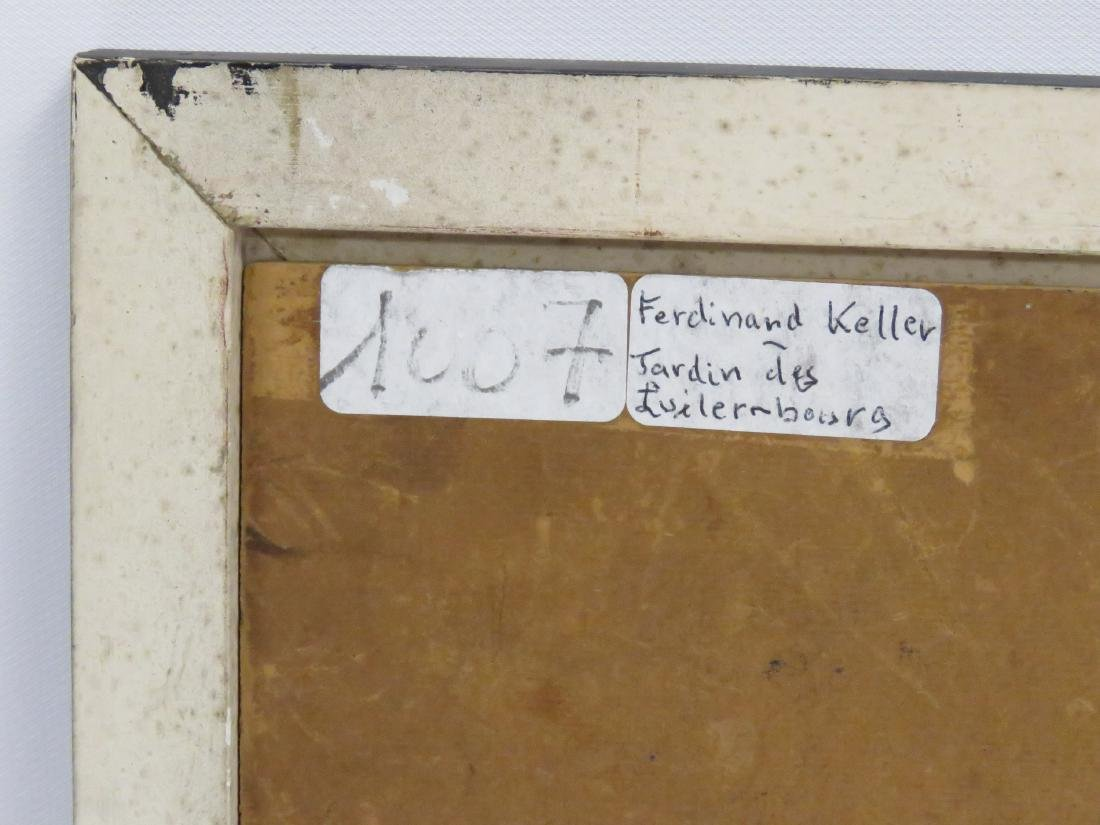 FERDINAND KELLER (GERMAN 1842-1922), OIL ON ARTIST - 3