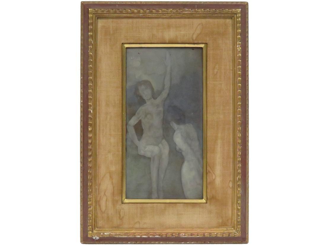 ARTHUR BOWEN DAVIES (AMERICAN 1862-1928), TEMPERA ON