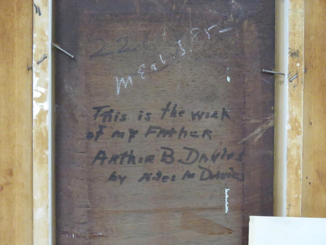 ARTHUR BOWEN DAVIES (AMERICAN 1862-1928), TEMPERA ON - 4