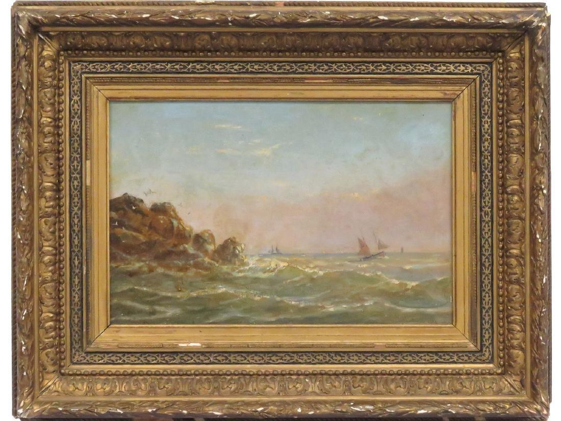 LUIGI MARIA GALEA (MALTA 1847-1917), OIL ON CARDBOARD,