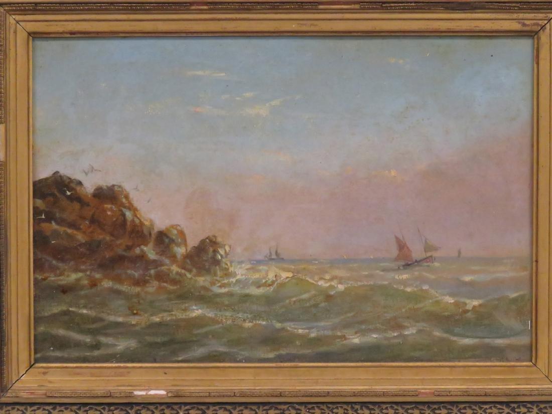 LUIGI MARIA GALEA (MALTA 1847-1917), OIL ON CARDBOARD, - 2