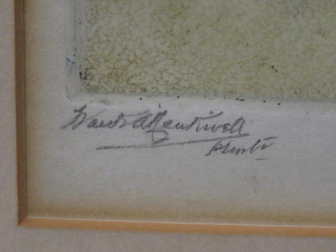 ARTHUR BOWEN DAVIES (AMERICAN 1862-1928), MONOPRINT ON - 3