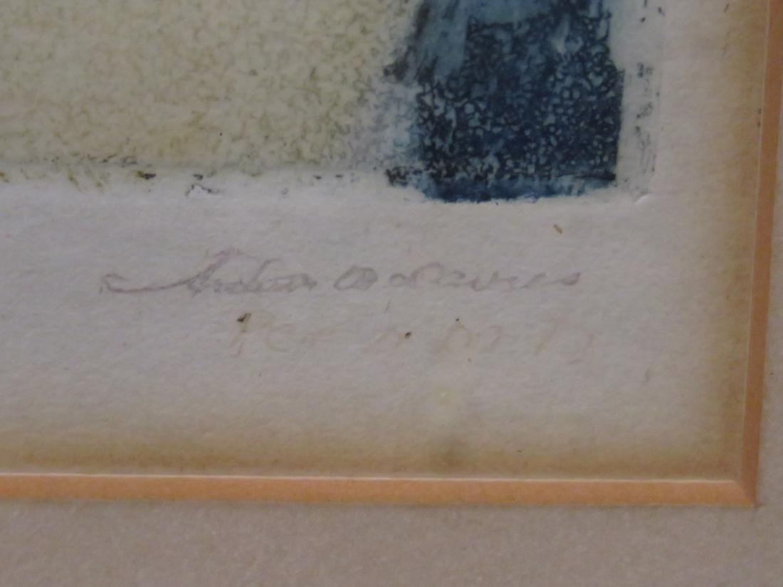 ARTHUR BOWEN DAVIES (AMERICAN 1862-1928), MONOPRINT ON - 4