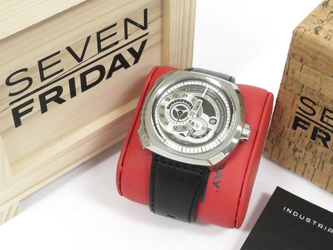 SEVENFRIDAY, Q1/01, INDUSTRIAL SERIES STAINLESS