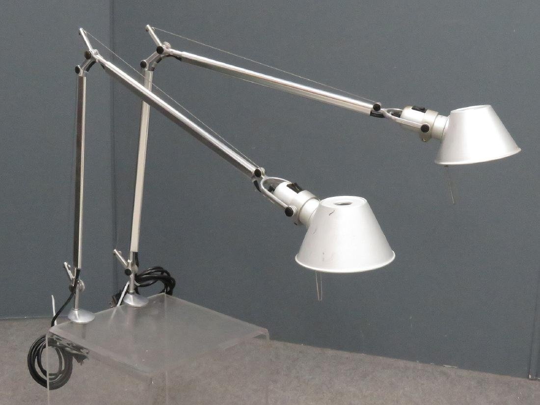 LOT (2) M. DELUCCHI/G. FASSINA FOR ARTEMIDE/TOLOMEO