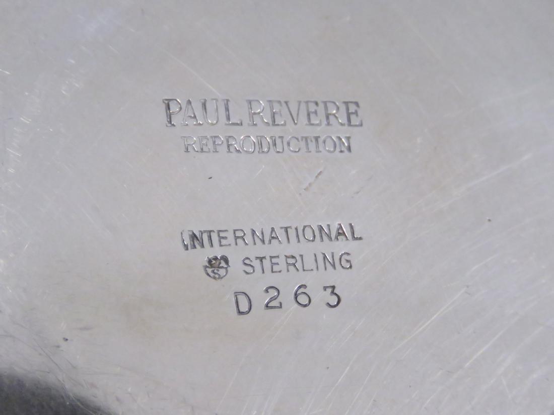 INTERNATIONAL STERLING PAUL REVERE BOWL, #D263. HEIGHT - 2