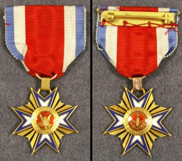 2344: US MILITARY MEDAL, ORDER OF THE LOYAL LEGION