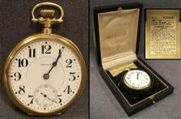 58 VINTAGE HOWARD 14K YELLOW GOLD CASED POCKET WATCH