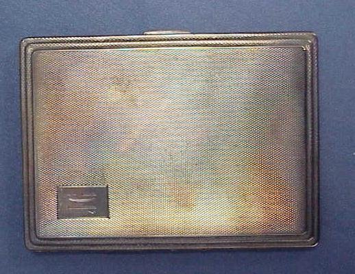 21: BIRMINGHAM STERLING CIGARETTE BOX