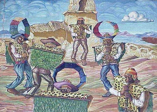 114: OIL/BURLAP, ALEJANDRO MARIO YLLANES