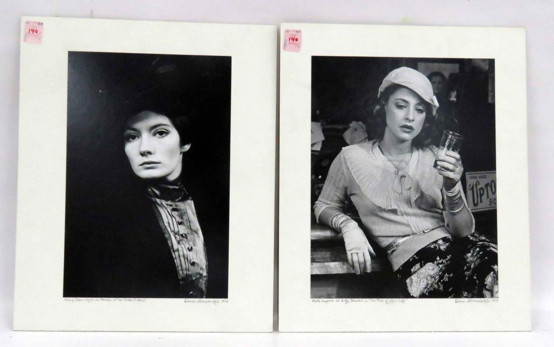 LOT (2) SILVER PRINT EXHIBITION PHOTOGRAPHS INCLUDING