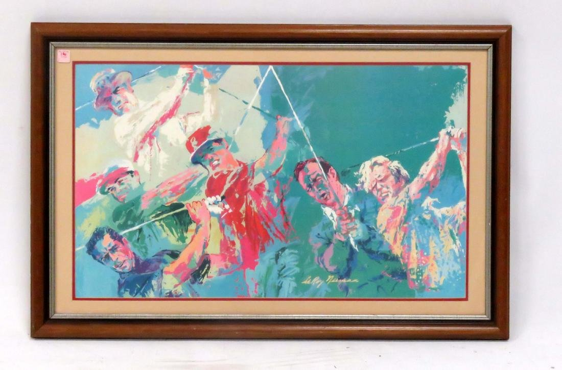 LEROY NEIMAN (AMERICAN 1924-2012), OFFSET LITHOGRAPH,