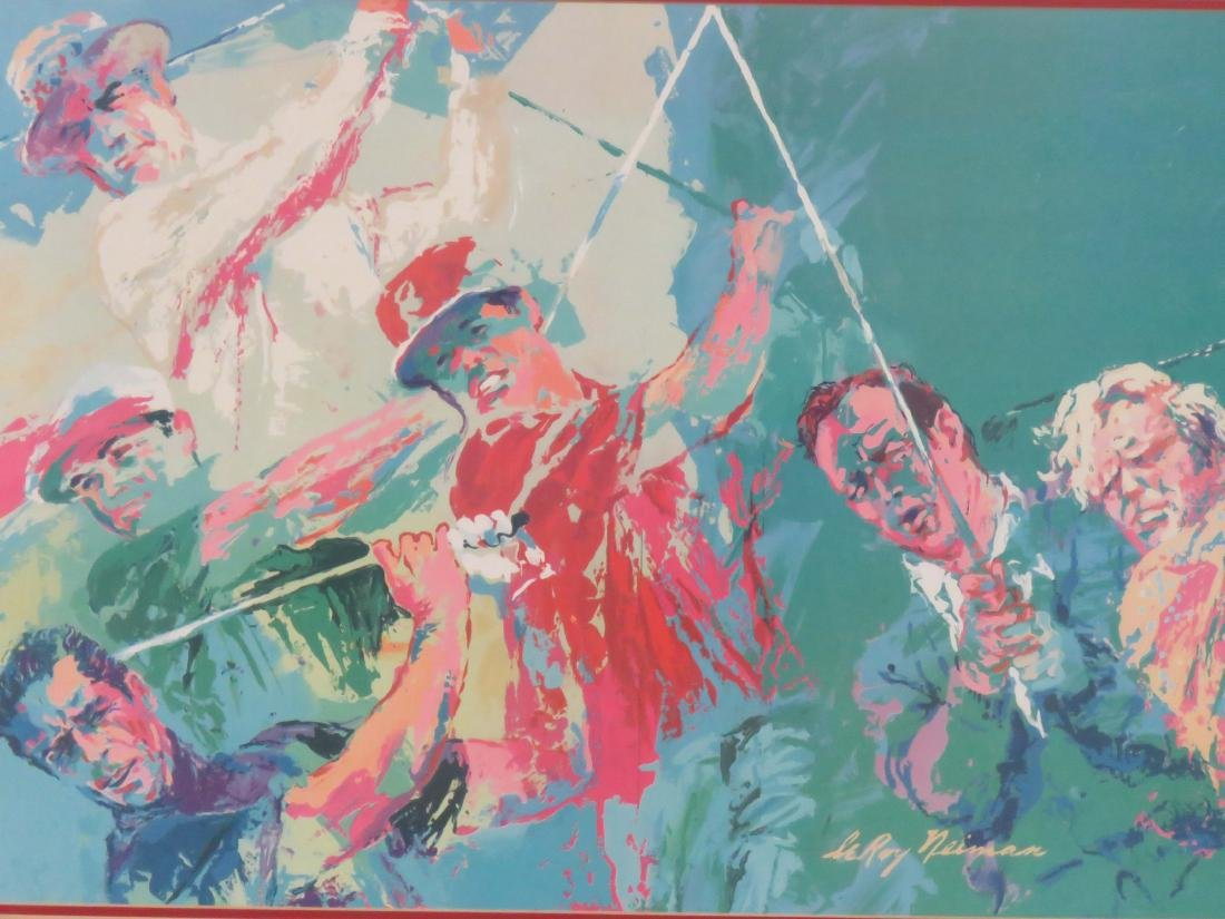 LEROY NEIMAN (AMERICAN 1924-2012), OFFSET LITHOGRAPH, - 3