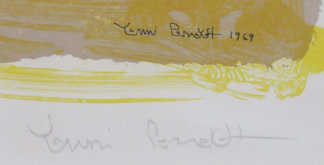 YANNI POSNAKOFF (GREEK 1933-), LITHOGRAPH, UNTITLED, - 2