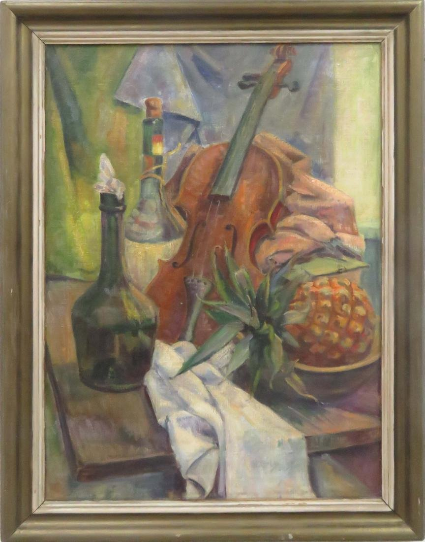 AMERICAN SCHOOL (20TH CENTURY), OIL ON CANVAS, STILL