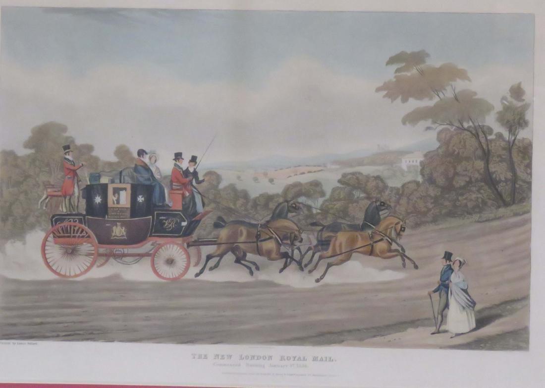 AFTER JAMES POLLARD (ENGLISH 1792-1867), LOT (2)