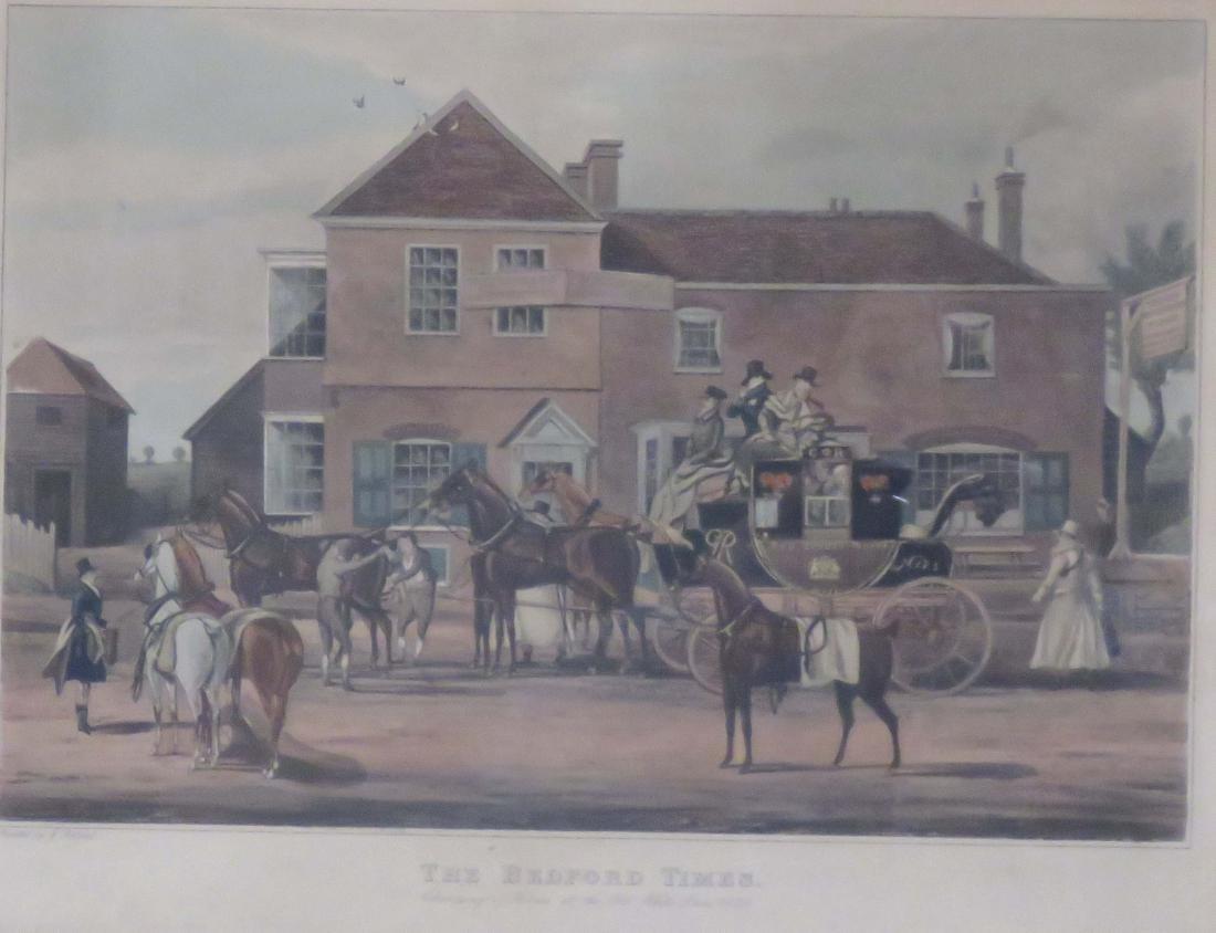 AFTER JAMES POLLARD (ENGLISH 1792-1867), LOT (2) - 2