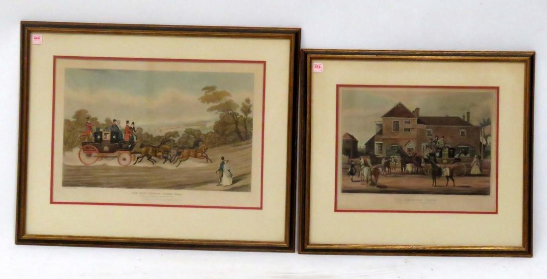 AFTER JAMES POLLARD (ENGLISH 1792-1867), LOT (2) - 3