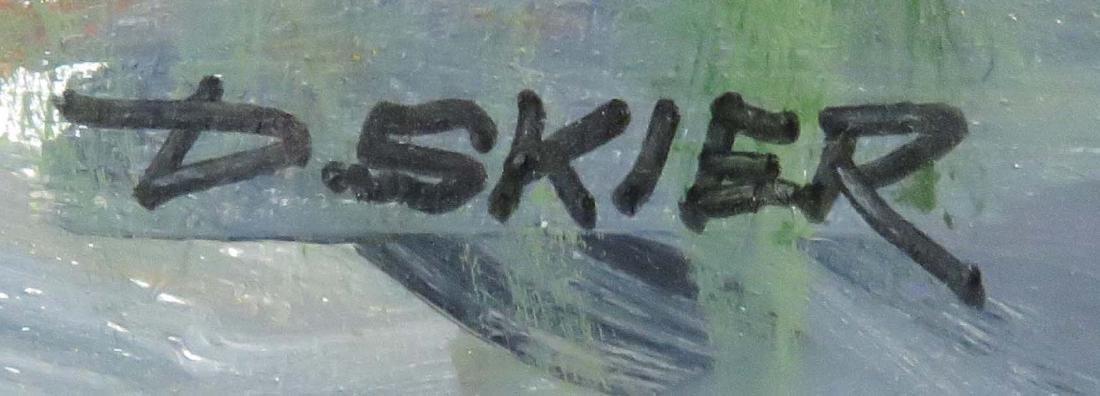 DONALD SKIER (AMERICAN 20TH CENTURY), OIL ON PANEL, - 2