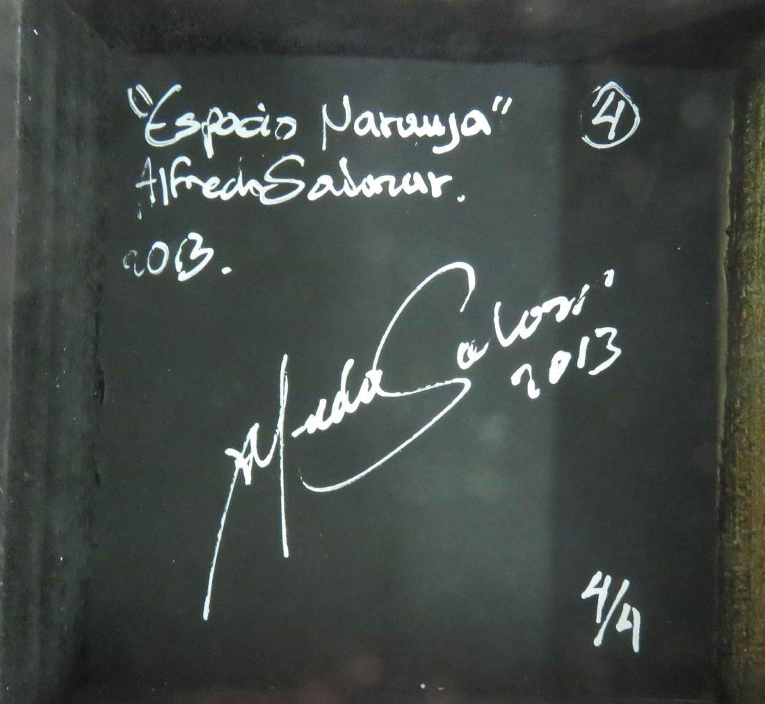 ALFREDO SALACAR, ACRYLIC ON CANVAS, ABSTRACT GROUP - 2