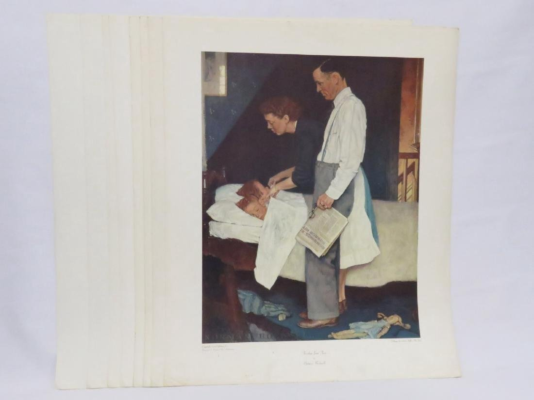 LOT (18) ASSORTED NORMAN ROCKWELL ADVERTISING PREMIUMS, - 2