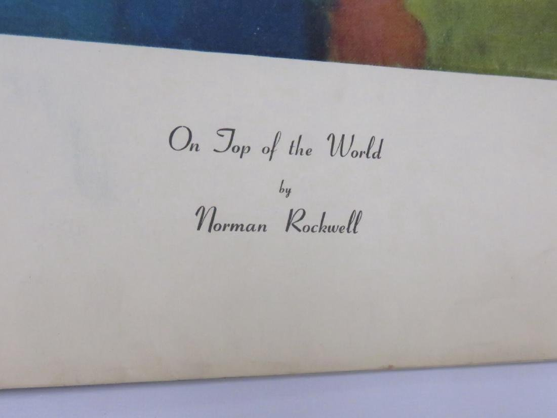 LOT (18) ASSORTED NORMAN ROCKWELL ADVERTISING PREMIUMS, - 3